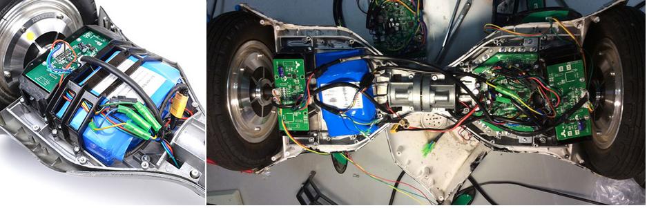 ремонт датчиков гироскутера