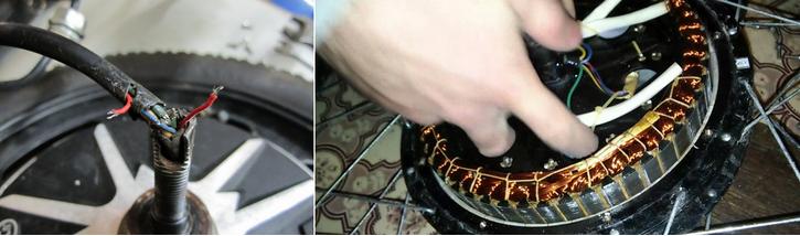 ремонт мотор колеса гироскутера
